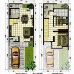 Denah Rumah Minimalis 2 Lantai Terbaru 2019
