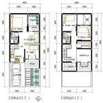 Denah Rumah Minimalis 2 Lantai Ukuran 6x12