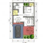 Denah Rumah Minimalis Type 45 72