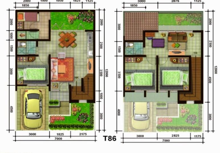 780+ Gambar Rumah 2 Lantai Luas Tanah 60 Terbaik