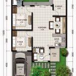 Denah Rumah Minimalis Type 70 Satu Lantai