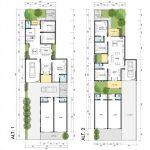 Denah Rumah Modern Minimalis 2 Lantai