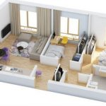 Denah Rumah Paling Sederhana