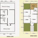 Denah Rumah Renovasi Sederhana