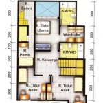 Denah Rumah Sederhana Lahan Sempit
