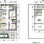 Denah Rumah Sederhana Modern