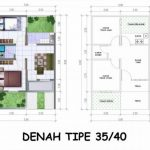 Denah Rumah Sederhana Simple