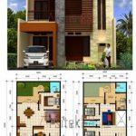 Denah Rumah Sederhana Tampak Depan