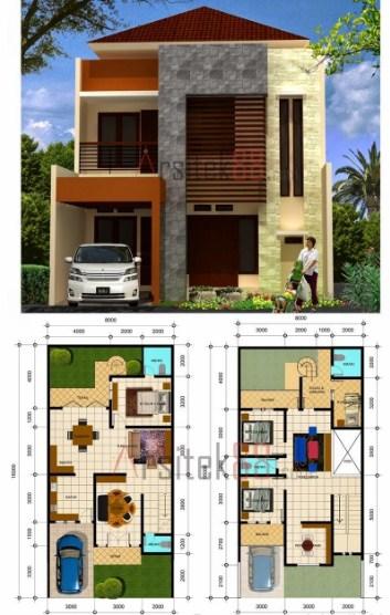 86 Koleksi Gambar Rumah Tampak Depan Ukuran 7x12 Terbaik