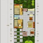 Denah Rumah Type 60 1 Lantai