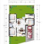 Denah Rumah Type 60 3 Kamar