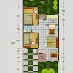 Denah Rumah Type 60 Lantai 2