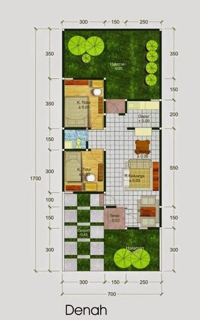 45 Gambar Rumah Tingkat Luas Tanah 60 M Gratis Terbaru