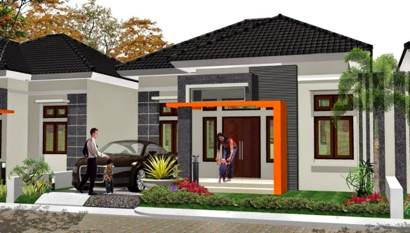 Desain Atap Rumah 1 Lantai