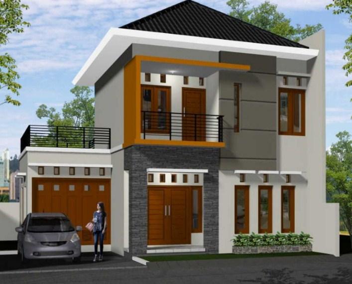 Desain Atap Rumah 2 Lantai