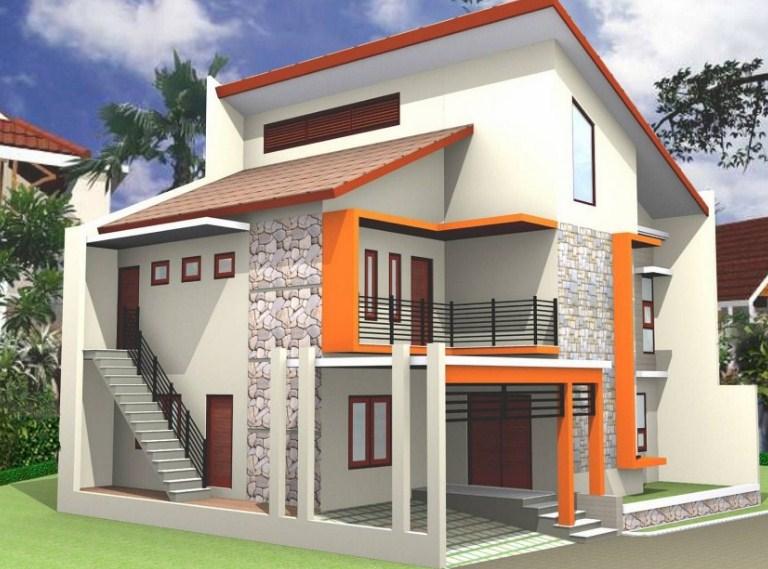 85 Gambar Desain Rumah Tingkat Minimalis 4X6 Paling Keren Unduh