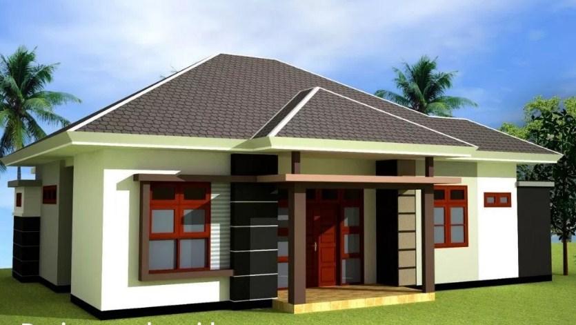 Desain Atap Rumah Miring