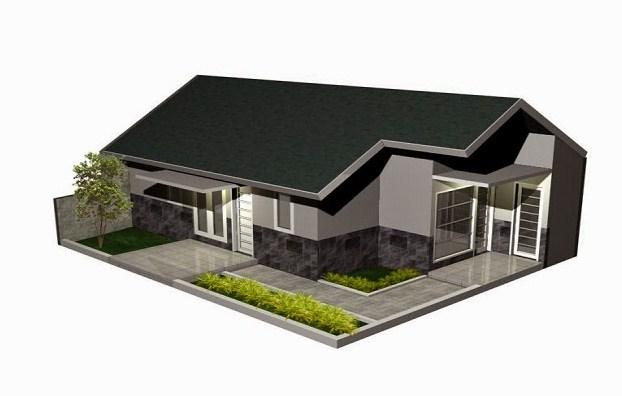 Desain Atap Rumah Panjang