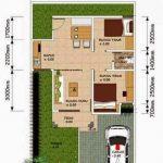 Desain Rumah Sederhana Type 45