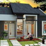 Desain Rumah Tanpa Atap Genteng