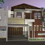 Desain Rumah Type 45 2 Lantai