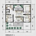 Desain Rumah Type 45 3 Kamar Tidur