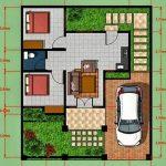 Desain Rumah Type 45 Sederhana