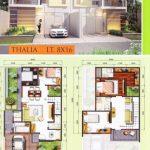 Foto Denah Rumah Minimalis 2 Lantai