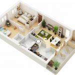 Gambar Denah Interior Rumah Minimalis