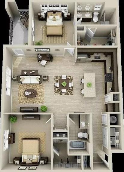 870+ Gambar Desain Rumah Minimalis Kamar 4 Terbaik Untuk Di Contoh