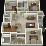 Gambar Denah Rumah 3d Mewah