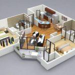 Gambar Denah Rumah 3d Sederhana