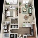 Gambar Denah Rumah 3d Ukuran 6x12