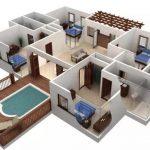 Gambar Denah Rumah Cantik Minimalis