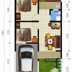 Gambar Denah Rumah Minimalis Lantai 1 Terbaru
