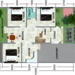 Gambar Denah Rumah Type 60