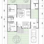 Gambar Denah Rumah Type 70 Minimalis