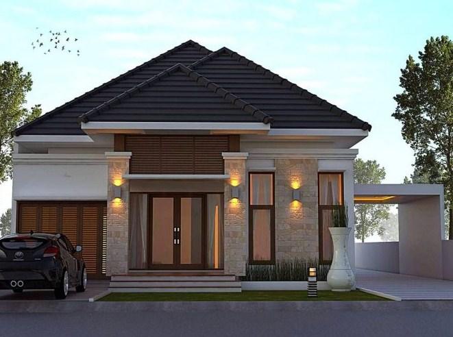 Gambar Desain Rumah Minimalis Type 45