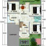 Gambar Rumah Minimalis 3 Kamar Tidur Terbaru 2019