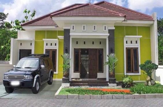 880 Gambar Warna Rumah Sederhana HD Terbaik