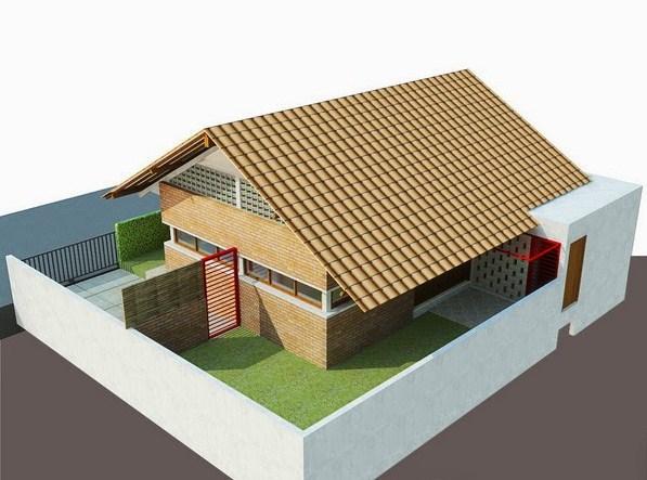 Model Bentuk Atap Rumah Minimalis 2019