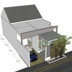 Model Rumah Atap Datar Minimalis 2019