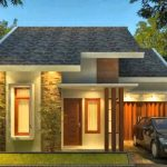 Model Rumah Minimalis Atap Asbes 2019