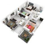 Rumah Minimalis 3 Kamar Tidur Terbaru
