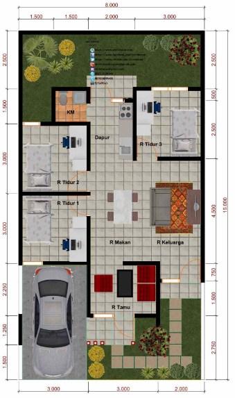 Rumah Minimalis 3 Kamar Tidur
