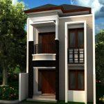 Rumah Minimalis Tampak Depan Bertingkat