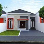 Rumah Minimalis Tampak Depan Ukuran 6x12