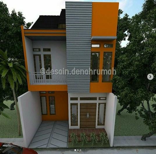 Rumah Minimalis Type 45 Lantai 2