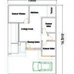 Sketsa Rumah Cantik Sederhana