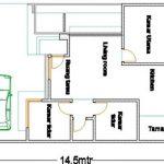 Sketsa Rumah Kecil Sederhana